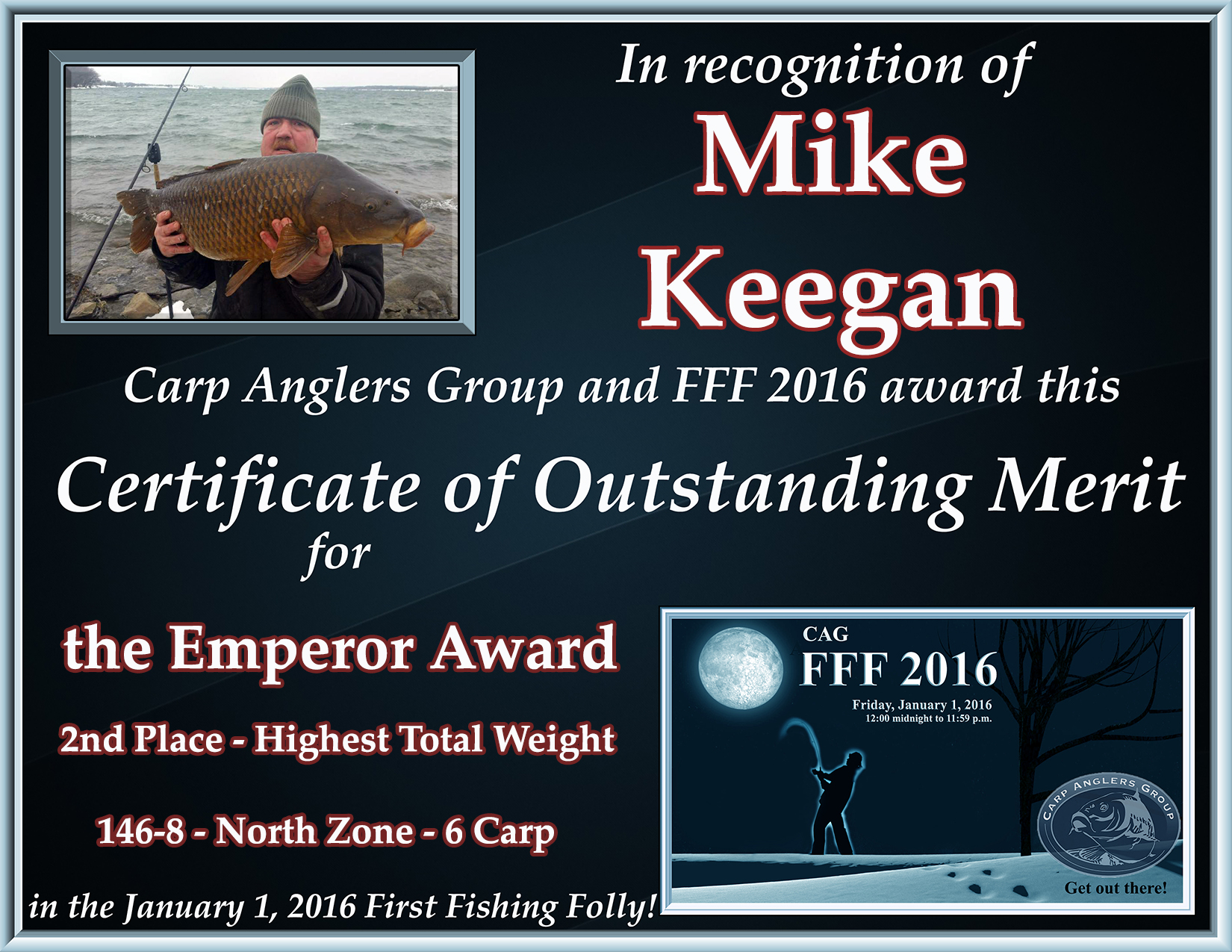 fff2016 cert emperor keegan 2nd north