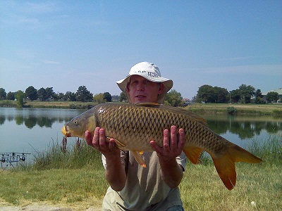 James Hitchens, 33 in, 18 lb 4 oz common, Aug 2015, Adams Co. Fairgrounds