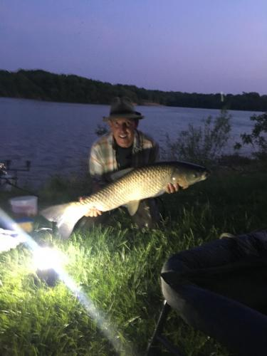 Grass carp 25lb 6 oz 39inch May 12 2018.JPG