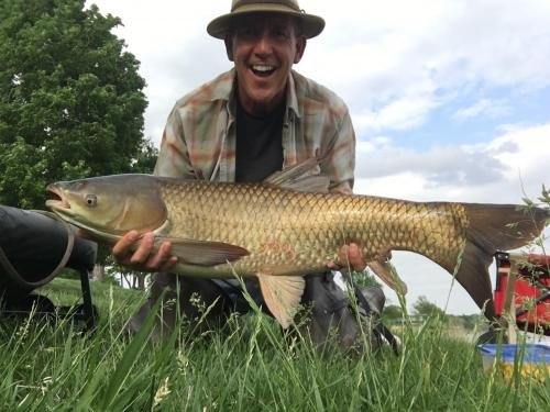 Grass carp 26lb 8 oz 38 inch May 12 2018.JPG