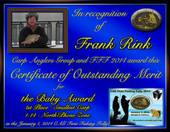 Frank Rink - FFF 2014 Baby Award - Small Fish - North Zone - 1st