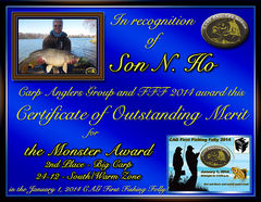 Son. N. Ho - FFF 2014 Monster Award - Big Fish - South Zone - 2nd