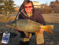 "19-6 Common - Big Fish at 3/23/13 ""Spring Has Sprung"" Carp Tournament - DesPlaines River - Joliet, IL - Dr. Frank Rink"