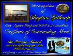 FFF 2014 Clayton Lothrop sunrise