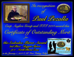 Paul Pezalla - FFF 2014 Scubadoc Mirror Award - Big Mirror - North Zone - 2nd
