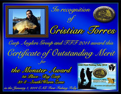Cristian Torres - FFF 2014 Monster Award - Big Fish - 1st - South Zone